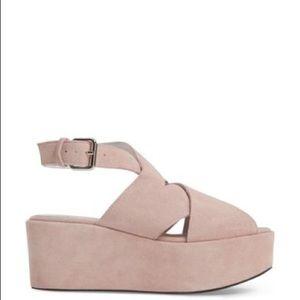 Jeffrey Campbell Larksport wedge sandals